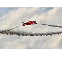 Red Arrows Synchro Pair - Farnborough 2014 Photographic Print