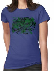 Eternal Dragon Rage Womens Fitted T-Shirt