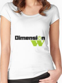 Dimension W Main Logo (no text) Women's Fitted Scoop T-Shirt