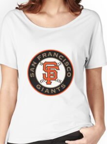 sf giants Women's Relaxed Fit T-Shirt