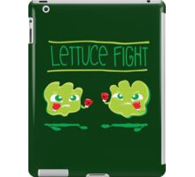 Lettuce Fight iPad Case/Skin