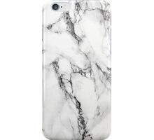 MARBLE - WHITE iPhone Case/Skin