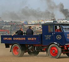 Co-op Coal Lorry by RedHillDigital