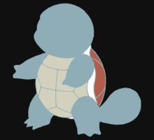 Simplified Squirtle by WithABlackTail