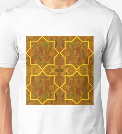 Eight Point Stars - Maps & Apps Series Unisex T-Shirt