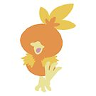 Simplified Torchic by WithABlackTail