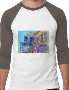 Adelaide Facade Men's Baseball ¾ T-Shirt