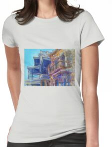 Adelaide Facade Womens Fitted T-Shirt