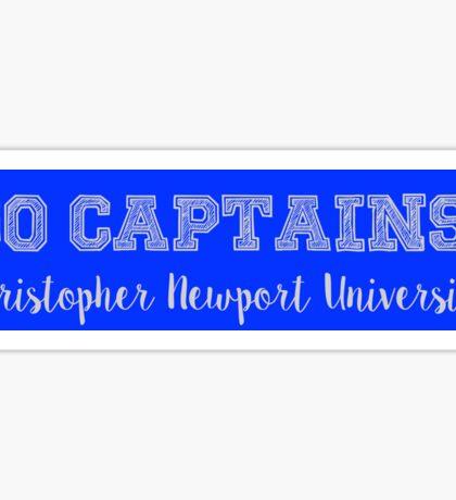 Go Captains Sticker
