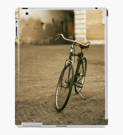 lonely bicycle iPad Case/Skin