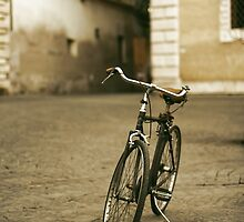 lonely bicycle by saaton