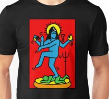 Dancing Shiva Keith Haring Tribute Unisex T-Shirt