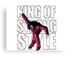 Shinsuke Nakamura - The King of Strong Style Canvas Print