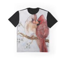 Lovely Cardinals Graphic T-Shirt