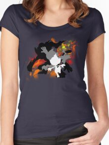 Infernape Family Women's Fitted Scoop T-Shirt