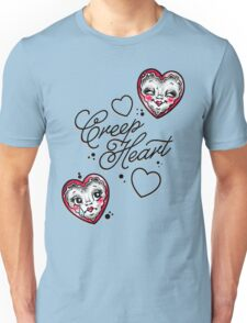 Smile Now, Cry Later Creep Heart Unisex T-Shirt