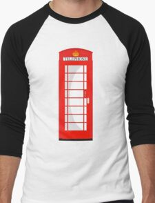 London Telephone 2 Men's Baseball ¾ T-Shirt