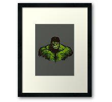 The Green Fury (green version) Framed Print