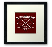 Ilvermorny School of Witchcraft & Wizardry Framed Print