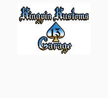 Kingpin Kustoms Garage chrome design Unisex T-Shirt