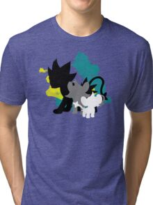 Luxray Family Tri-blend T-Shirt