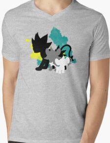 Luxray Family Mens V-Neck T-Shirt