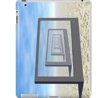 Flat Screen Desert Scene iPad Case/Skin
