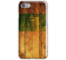 wooden cover  iPhone Case/Skin
