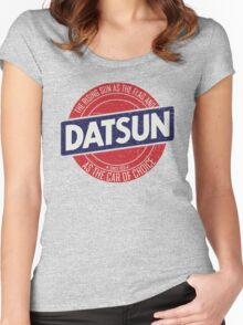 car of the rising sun Women's Fitted Scoop T-Shirt
