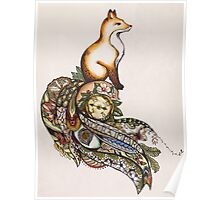 Fox on a journey  Poster