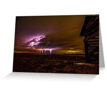 pump house storm Greeting Card