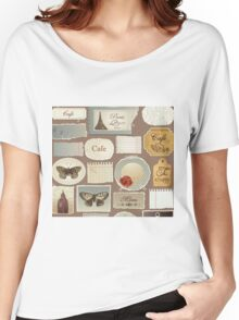 London Cafe Women's Relaxed Fit T-Shirt