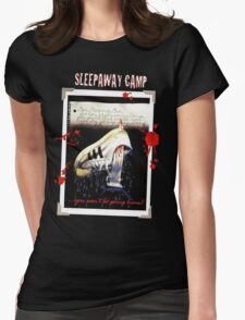 Sleepaway Camp  Womens Fitted T-Shirt