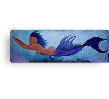 In the Deep Blue Sea Canvas Print