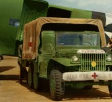 Doctor - 1942 - Delivering blood Sticker