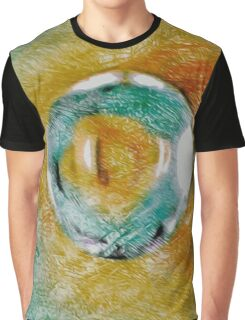 Reptile Eye Graphic T-Shirt