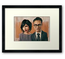 Fred and Carrie Framed Print