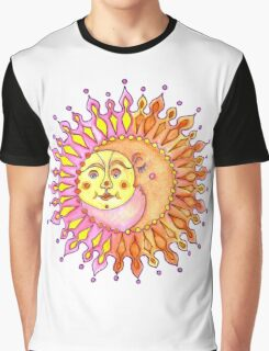 Sun and Moon together  Graphic T-Shirt