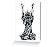 Surrendering The Liberty Greeting Card