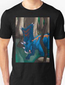 Dinosaur Swamp - Chasmosaurus Unisex T-Shirt