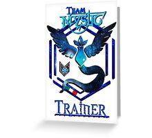 Team Mystic - Medal [Limited Ed. start 30/07 end 31/08] Greeting Card