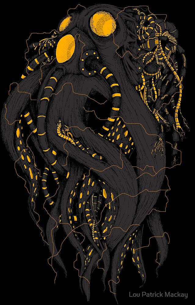 Octobot by Lou Patrick Mackay