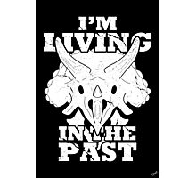 Living in the Past with Triceratops Photographic Print