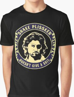 Snake Plissken (doesn't give a shit) Colour 3 Graphic T-Shirt
