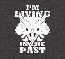 Living in the Past with Triceratops Unisex T-Shirt
