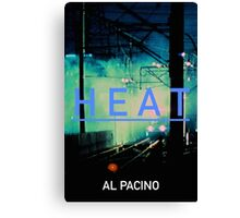 HEAT 6 Canvas Print