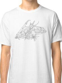 Muntjac Deer Pair Skull Design Classic T-Shirt