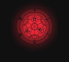 transmutation halftone circle Unisex T-Shirt