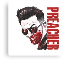 preacher - Arseface, Jesse, Tulip and Cassidy Canvas Print