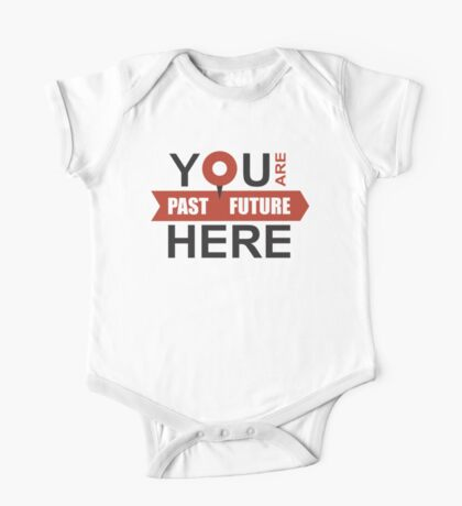 GPS of your life - locate the moment One Piece - Short Sleeve